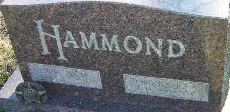 LEWIS HAMMOND, DOROTHY - Franklin County, Ohio | DOROTHY LEWIS HAMMOND - Ohio Gravestone Photos