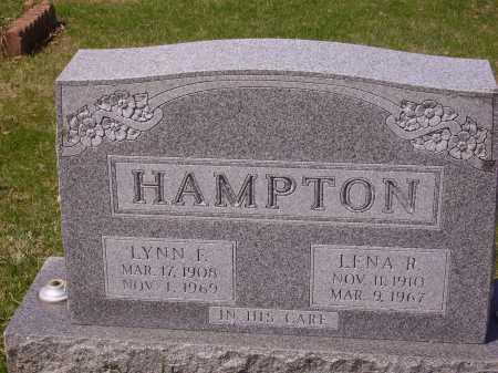 HAMPTON, LENA R. - Franklin County, Ohio | LENA R. HAMPTON - Ohio Gravestone Photos