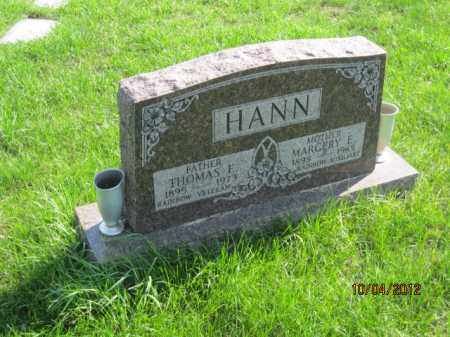 HANN, MARGERY E - Franklin County, Ohio | MARGERY E HANN - Ohio Gravestone Photos
