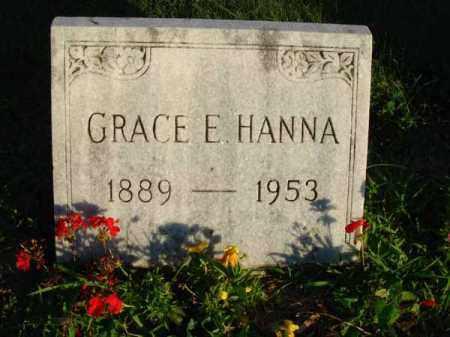 HANNA, GRACE E. - Franklin County, Ohio | GRACE E. HANNA - Ohio Gravestone Photos