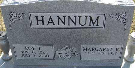 HANNUM, ROY T - Franklin County, Ohio | ROY T HANNUM - Ohio Gravestone Photos