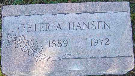 HANSEN, PETER A - Franklin County, Ohio   PETER A HANSEN - Ohio Gravestone Photos