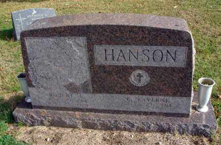 HANSON, ROBERT K. - Franklin County, Ohio | ROBERT K. HANSON - Ohio Gravestone Photos