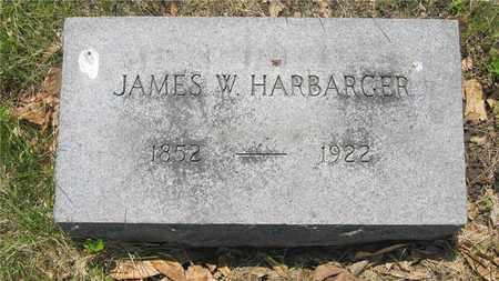 HARBARGER, JAMES W. - Franklin County, Ohio | JAMES W. HARBARGER - Ohio Gravestone Photos