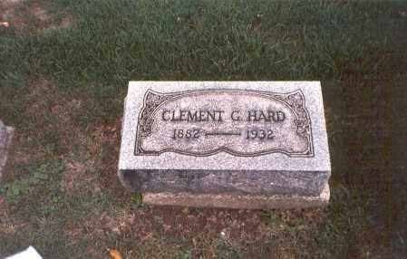 HARD, CLEMENT G. - Franklin County, Ohio | CLEMENT G. HARD - Ohio Gravestone Photos