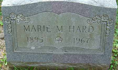 HARD, MARIE M - Franklin County, Ohio | MARIE M HARD - Ohio Gravestone Photos