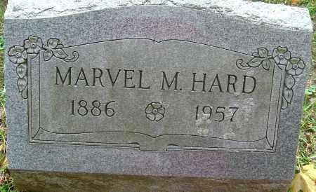 HARD, MARVEL MARION - Franklin County, Ohio | MARVEL MARION HARD - Ohio Gravestone Photos