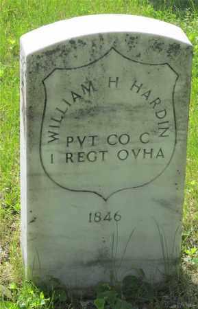 HARDIN, WILLIAM H. - Franklin County, Ohio   WILLIAM H. HARDIN - Ohio Gravestone Photos