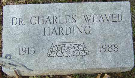 HARDING, CHARLES WEAVER - Franklin County, Ohio   CHARLES WEAVER HARDING - Ohio Gravestone Photos