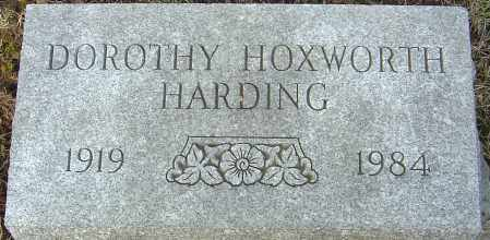 HOXWORTH HARDING, DOROTHY - Franklin County, Ohio | DOROTHY HOXWORTH HARDING - Ohio Gravestone Photos