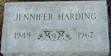 HARDING, JENNIFER - Franklin County, Ohio | JENNIFER HARDING - Ohio Gravestone Photos