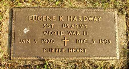 HARDWAY, EUGENE K. - Franklin County, Ohio   EUGENE K. HARDWAY - Ohio Gravestone Photos