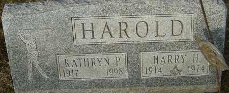 SHAW HAROLD, KATHRYN - Franklin County, Ohio | KATHRYN SHAW HAROLD - Ohio Gravestone Photos