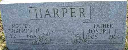 HARPER, JOSEPH E - Franklin County, Ohio | JOSEPH E HARPER - Ohio Gravestone Photos