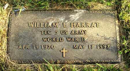 HARRAT, WILLIAM L. - Franklin County, Ohio | WILLIAM L. HARRAT - Ohio Gravestone Photos