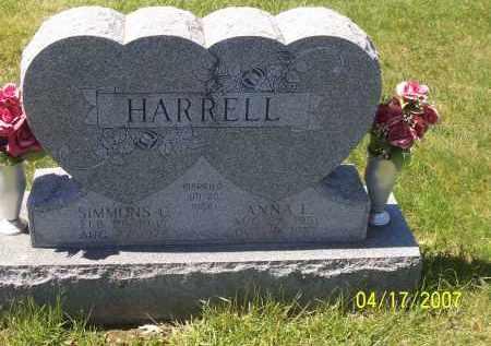HARRELL, SIMMONS C - Franklin County, Ohio | SIMMONS C HARRELL - Ohio Gravestone Photos