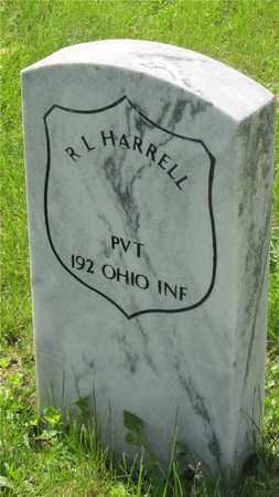 HARRELL, R.L. - Franklin County, Ohio   R.L. HARRELL - Ohio Gravestone Photos