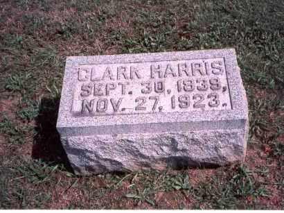 HARRIS, CLARK - Franklin County, Ohio | CLARK HARRIS - Ohio Gravestone Photos