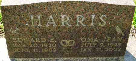HARRIS, OMA JEAN - Franklin County, Ohio | OMA JEAN HARRIS - Ohio Gravestone Photos