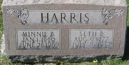 HARRIS, SETH B - Franklin County, Ohio | SETH B HARRIS - Ohio Gravestone Photos