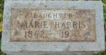 HARRIS, MARIE - Franklin County, Ohio | MARIE HARRIS - Ohio Gravestone Photos