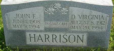 HARRISON, DOROTHY VIRGINIA - Franklin County, Ohio | DOROTHY VIRGINIA HARRISON - Ohio Gravestone Photos
