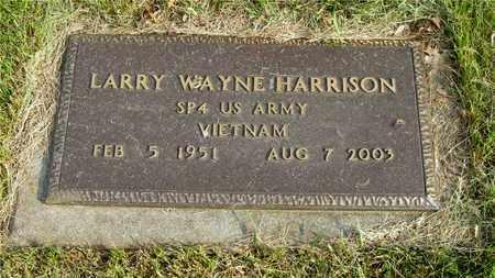HARRISON, LARRY WAYNE - Franklin County, Ohio | LARRY WAYNE HARRISON - Ohio Gravestone Photos
