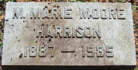 HARRISON, M MARIE MOORE - Franklin County, Ohio | M MARIE MOORE HARRISON - Ohio Gravestone Photos