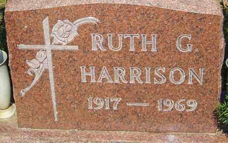 HARRISON, RUTH G - Franklin County, Ohio   RUTH G HARRISON - Ohio Gravestone Photos