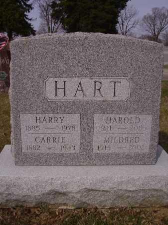 HART, HARRY - Franklin County, Ohio | HARRY HART - Ohio Gravestone Photos