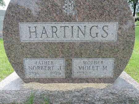 HARTINGS, VIOLET M. - Franklin County, Ohio | VIOLET M. HARTINGS - Ohio Gravestone Photos