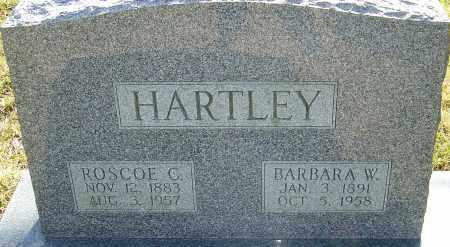HARTLEY, BARBARA W - Franklin County, Ohio | BARBARA W HARTLEY - Ohio Gravestone Photos