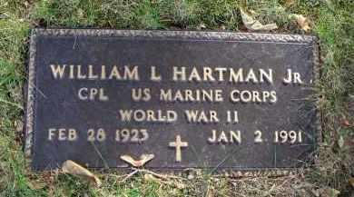 HARTMAN, WILLIAM L. - Franklin County, Ohio | WILLIAM L. HARTMAN - Ohio Gravestone Photos