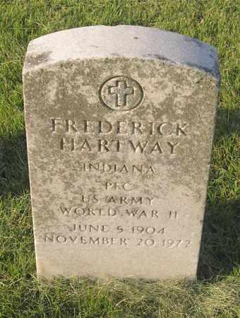HARTWAY, FREDERICK - Franklin County, Ohio   FREDERICK HARTWAY - Ohio Gravestone Photos