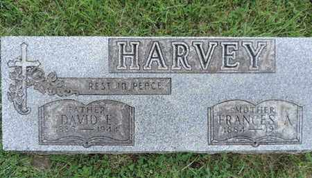 HARVEY, FRANCES A. - Franklin County, Ohio | FRANCES A. HARVEY - Ohio Gravestone Photos