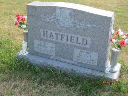 HATFIELD, ELVA FRANCIS - Franklin County, Ohio | ELVA FRANCIS HATFIELD - Ohio Gravestone Photos