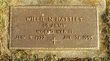 HATTLEY, WILLIE N. - Franklin County, Ohio   WILLIE N. HATTLEY - Ohio Gravestone Photos