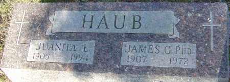 HAUB, JUANITA L - Franklin County, Ohio | JUANITA L HAUB - Ohio Gravestone Photos