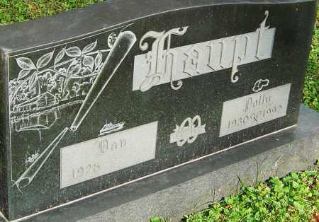 HAUPT, POLLY - Franklin County, Ohio | POLLY HAUPT - Ohio Gravestone Photos