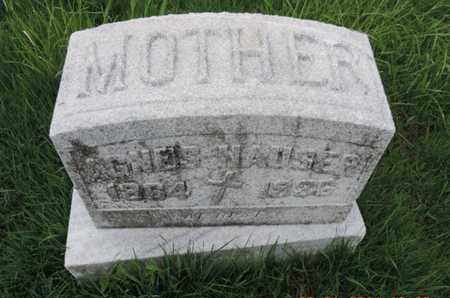 HAUSER, AGNES - Franklin County, Ohio | AGNES HAUSER - Ohio Gravestone Photos