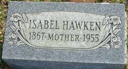 HAWKEN, ISABEL - Franklin County, Ohio | ISABEL HAWKEN - Ohio Gravestone Photos