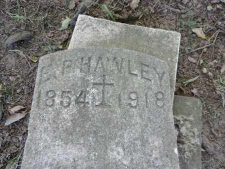 HAWLEY, E.P. - Franklin County, Ohio   E.P. HAWLEY - Ohio Gravestone Photos
