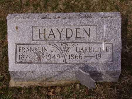 HAYDEN, FRANKLIN J. - Franklin County, Ohio   FRANKLIN J. HAYDEN - Ohio Gravestone Photos
