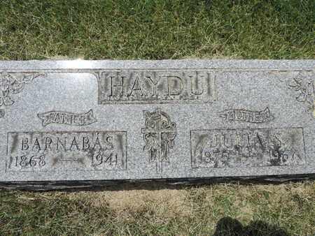 HAYDU, BARNABAS - Franklin County, Ohio | BARNABAS HAYDU - Ohio Gravestone Photos