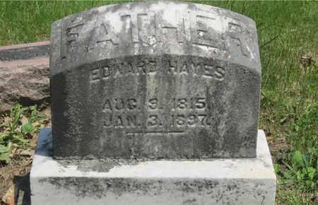 HAYES, EDWARD - Franklin County, Ohio | EDWARD HAYES - Ohio Gravestone Photos