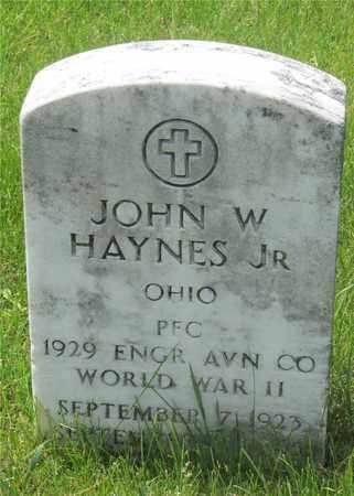 HAYNES, JOHN W. - Franklin County, Ohio | JOHN W. HAYNES - Ohio Gravestone Photos