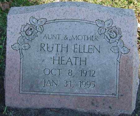 HEATH, RUTH ELLEN - Franklin County, Ohio | RUTH ELLEN HEATH - Ohio Gravestone Photos