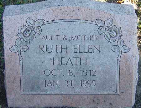 HEATH, RUTH ELLEN - Franklin County, Ohio | RUTH ELLEN HEATH - Ohio Gravestone Photos