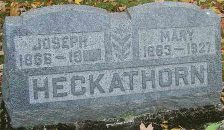 WILDMAN HECKATHORN, MARY - Franklin County, Ohio | MARY WILDMAN HECKATHORN - Ohio Gravestone Photos