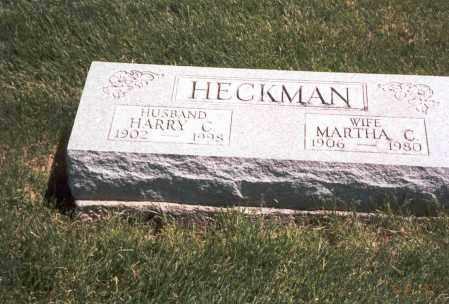 PETERS HECKMAN, MARTHA C. - Franklin County, Ohio   MARTHA C. PETERS HECKMAN - Ohio Gravestone Photos